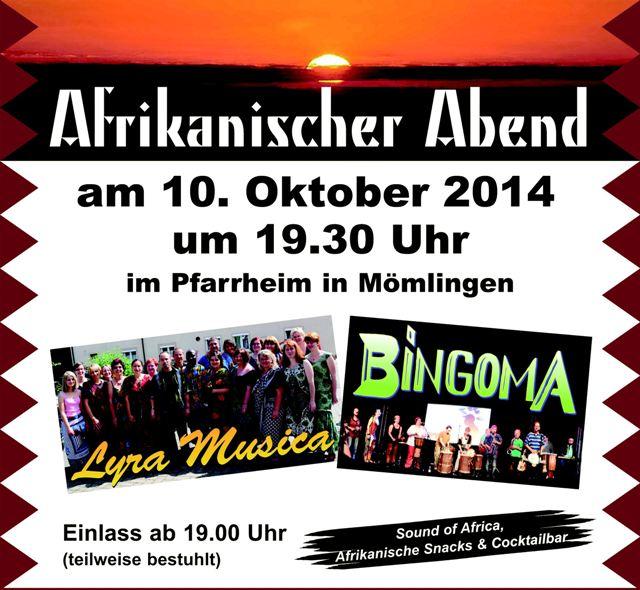Afrikanischer Abend 2014