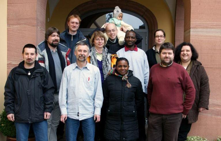 Das Team Tansania 2009 auf Klausurwochenende in Miltenberg